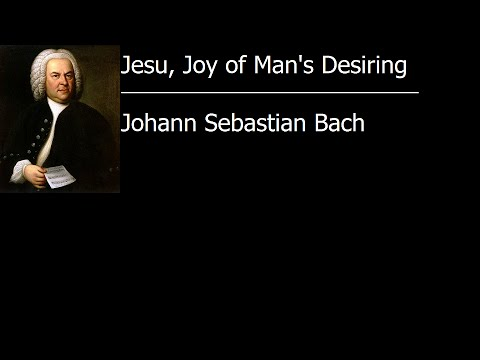 Jesu, Joy of Man's Desiring - Johann Sebastian Bach [Vinyl Rip]