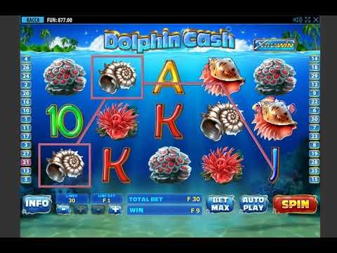 Игровой автомат DOLPHIN CASH играть бесплатно и без регистрации онлайн