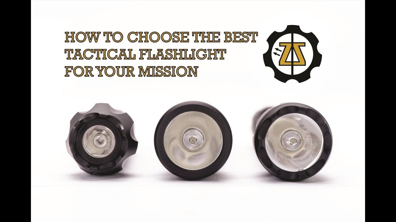 How to Choose the Best Tactical Flashlight for Your ...