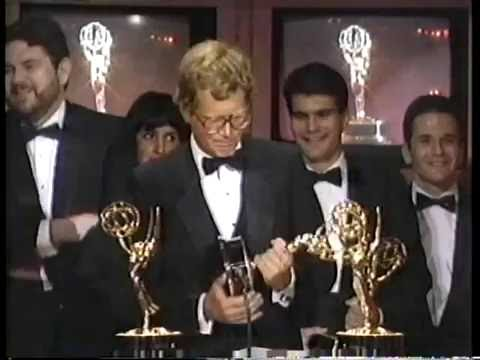 Late Night Wins 2nd Emmy, September 22, 1985