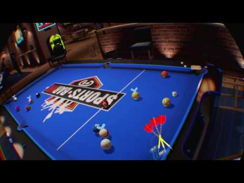 Sports Bar VR jumpy table