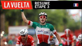 Résumé - Étape 3 - La Vuelta 2018
