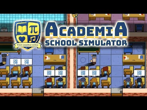 Academia PC Gameplay Impressions - Prison Architect for Kids!