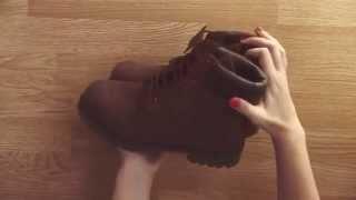 Настоящие тимберленды  Обзор ботинок тимберленд коричневого цвета Только ORIGINAL!!!
