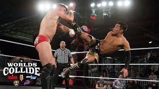 Akira Tozawa vs. Jordan Devlin: WWE Worlds Collide, April 17, 2019