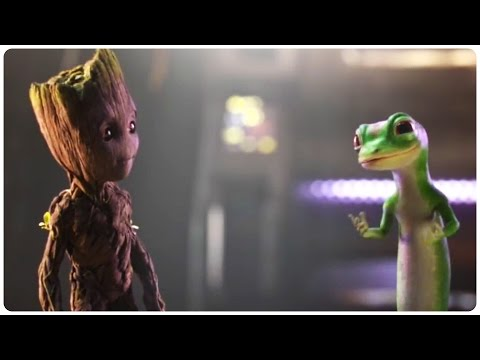 "Guardians of the Galaxy 2 ""Baby Groot and Gecko Team Up"" Trailer (2017)"