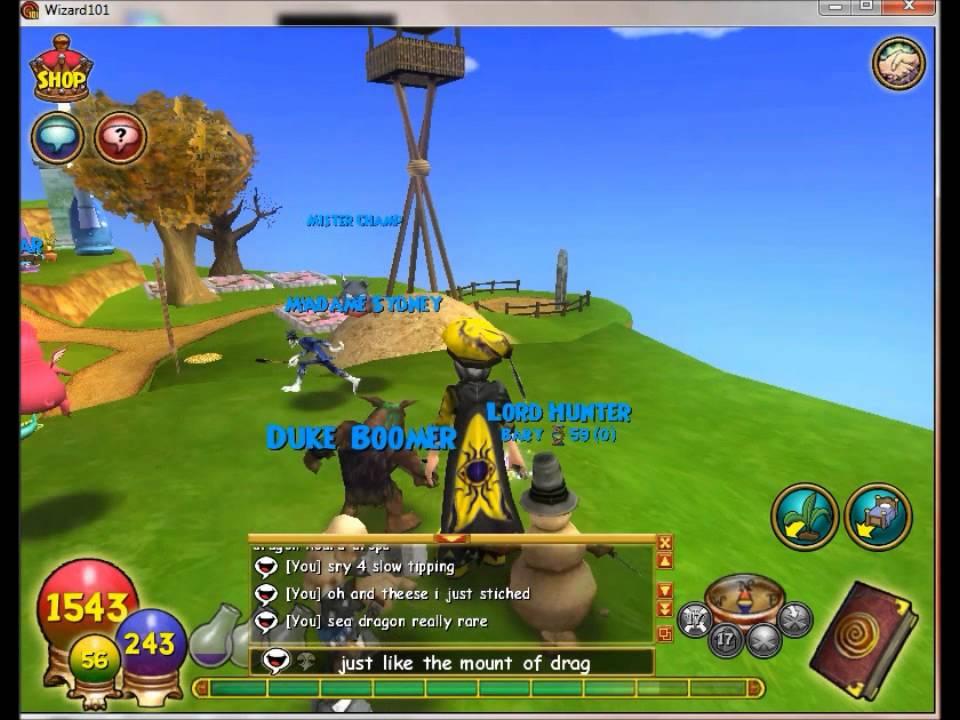 Wizard101 sea dragon pet