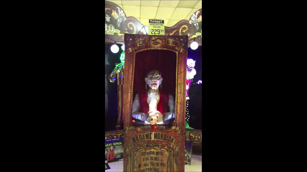 Spirit Halloween 2013 YJ Misfortune Teller Madame Morbida