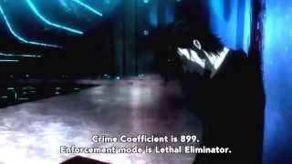 The highest Crime Coefficient.