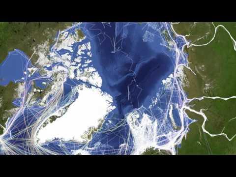 Arctic Ship Traffic Data