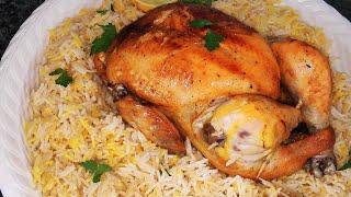 تحميل فيديو المندي السعودي🇸🇦  مندي دجاج في الفرن مع سر نكهة المندي من مطبخ خلود