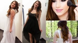 Get Prom Ready With Me: Hair, Makeup, & Dress!