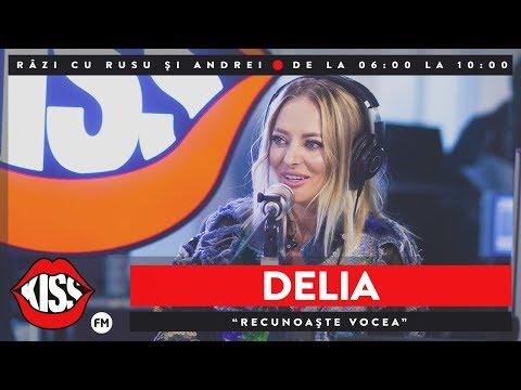 'Recunoaște Vocea' cu Delia @ KissFM
