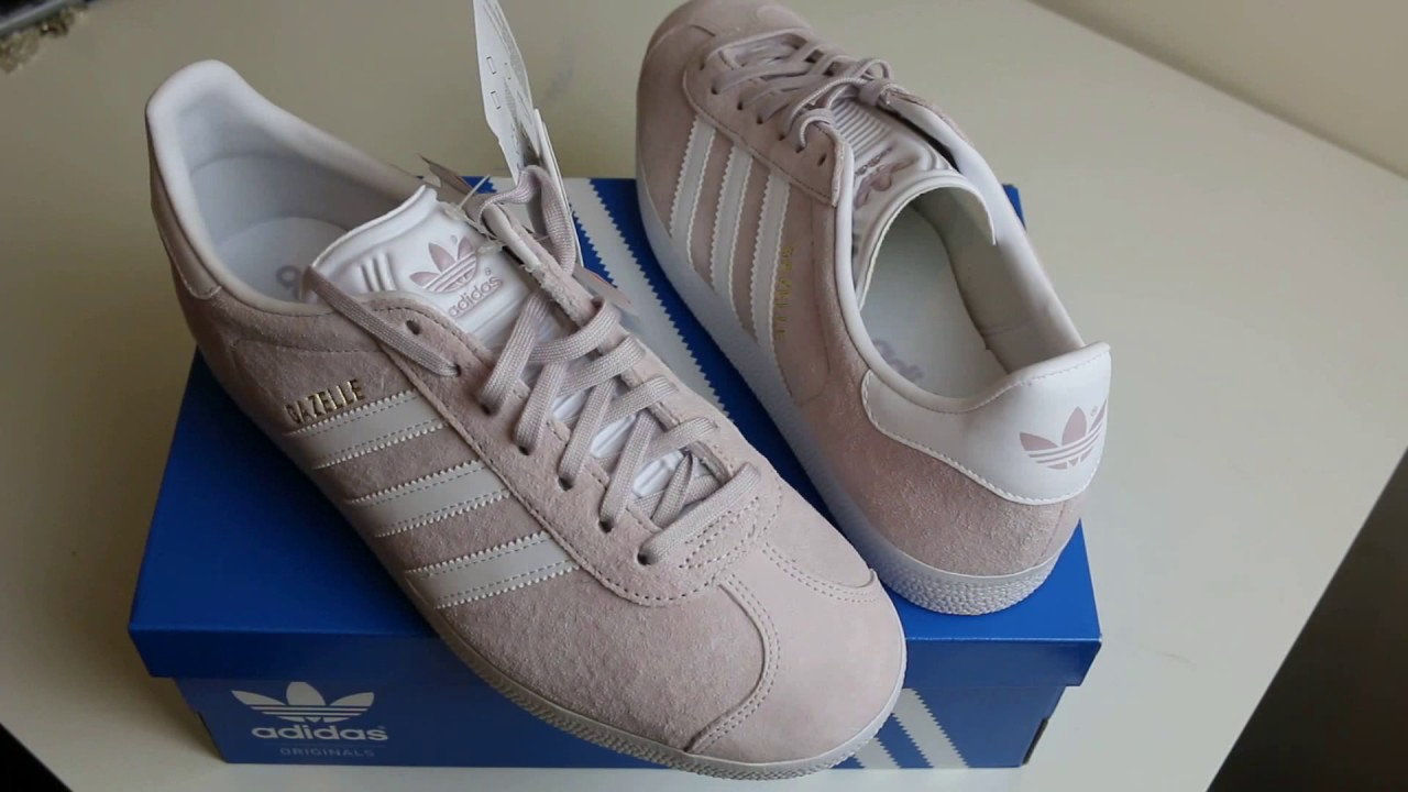 adidas gazelle faded rose