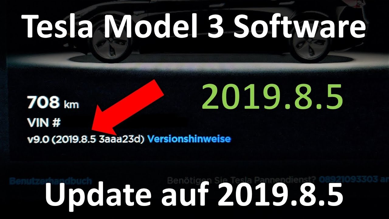 Was bringt das Tesla Model 3 Software Update auf 2019.8.5 ...