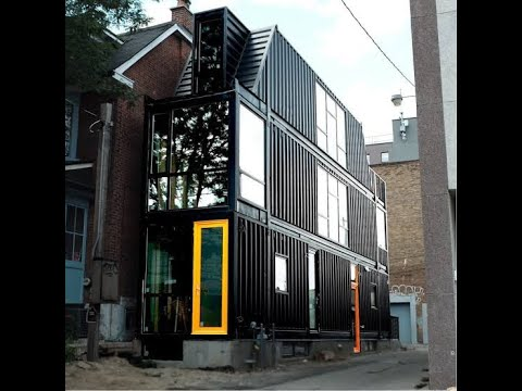 shipping container house toronto