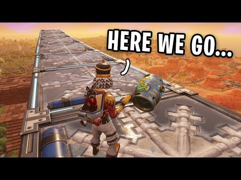 Can You SLIDE Across The Fortnite Map Using ONLY CHILLER TRAPS? (Fortnite Season 6 Experiment)