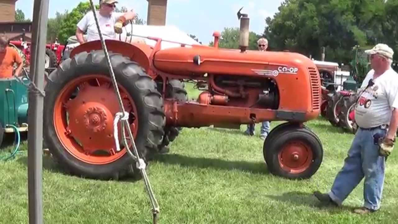 Dyno For Tractors : Co op e tractor dyno d youtube