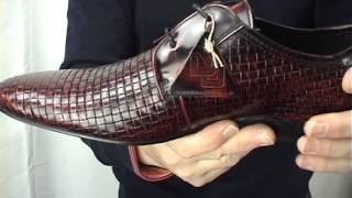 Mod Shoes DJ Weaver Oxblood