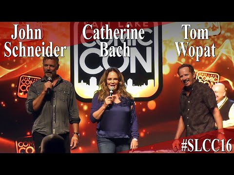 Tom Wopat, John Schneider, Catherine Bach - Dukes of Hazzard Reunion Panel/Q&A - SLCC 2016