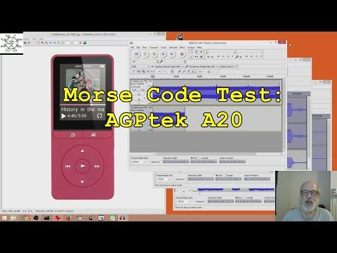 Morse Code Test: AGPtek A20