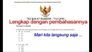 Download Video Lulus 100% BAGI YANG MAU TES CAT TIU CPNS 2018  III MP3 3GP MP4