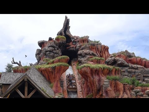 Splash Mountain, Magic Kingdom, Walt Disney World, (HD 1080p)