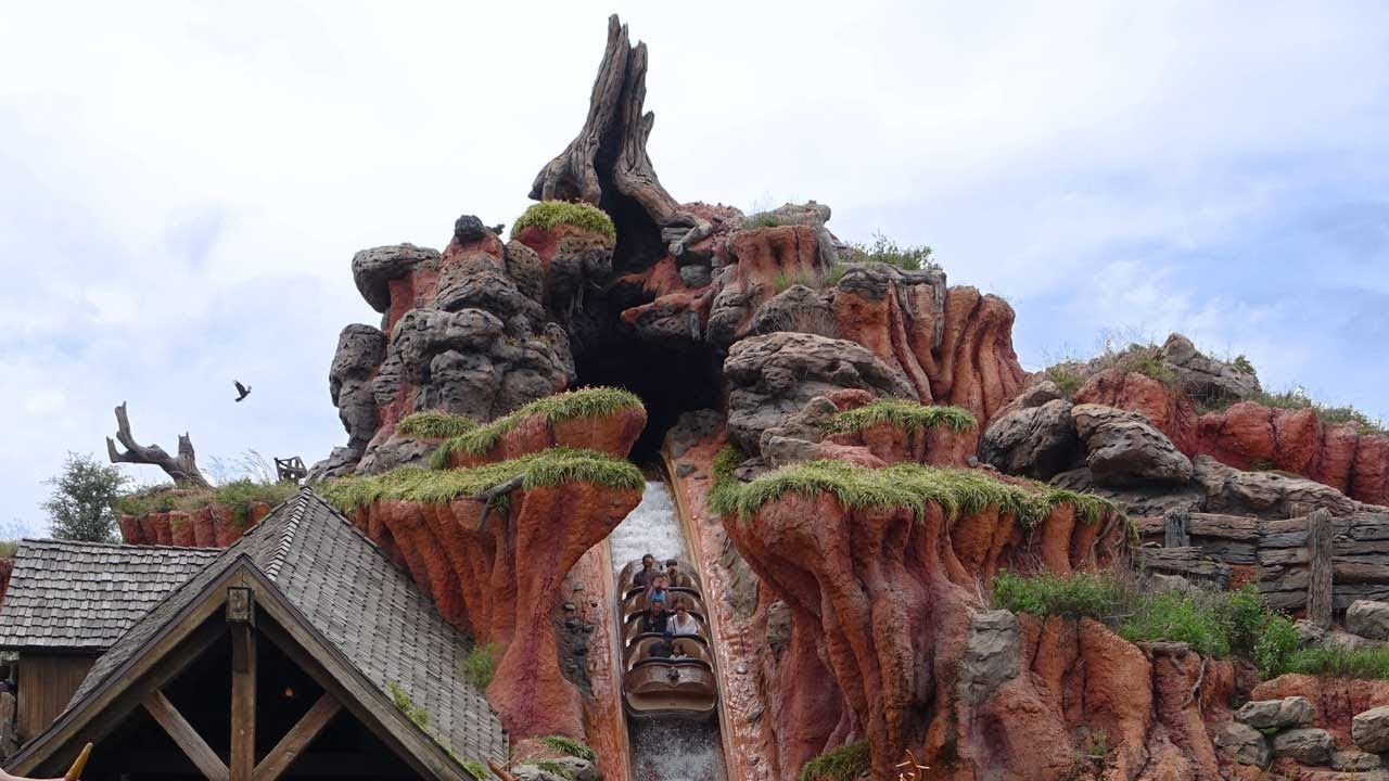Splash Mountain Magic Kingdom Walt Disney World Hd 1080p Youtube