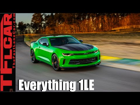 2017 Chevy Camaro 1le Everything You Ever Wanted To Know Youtube