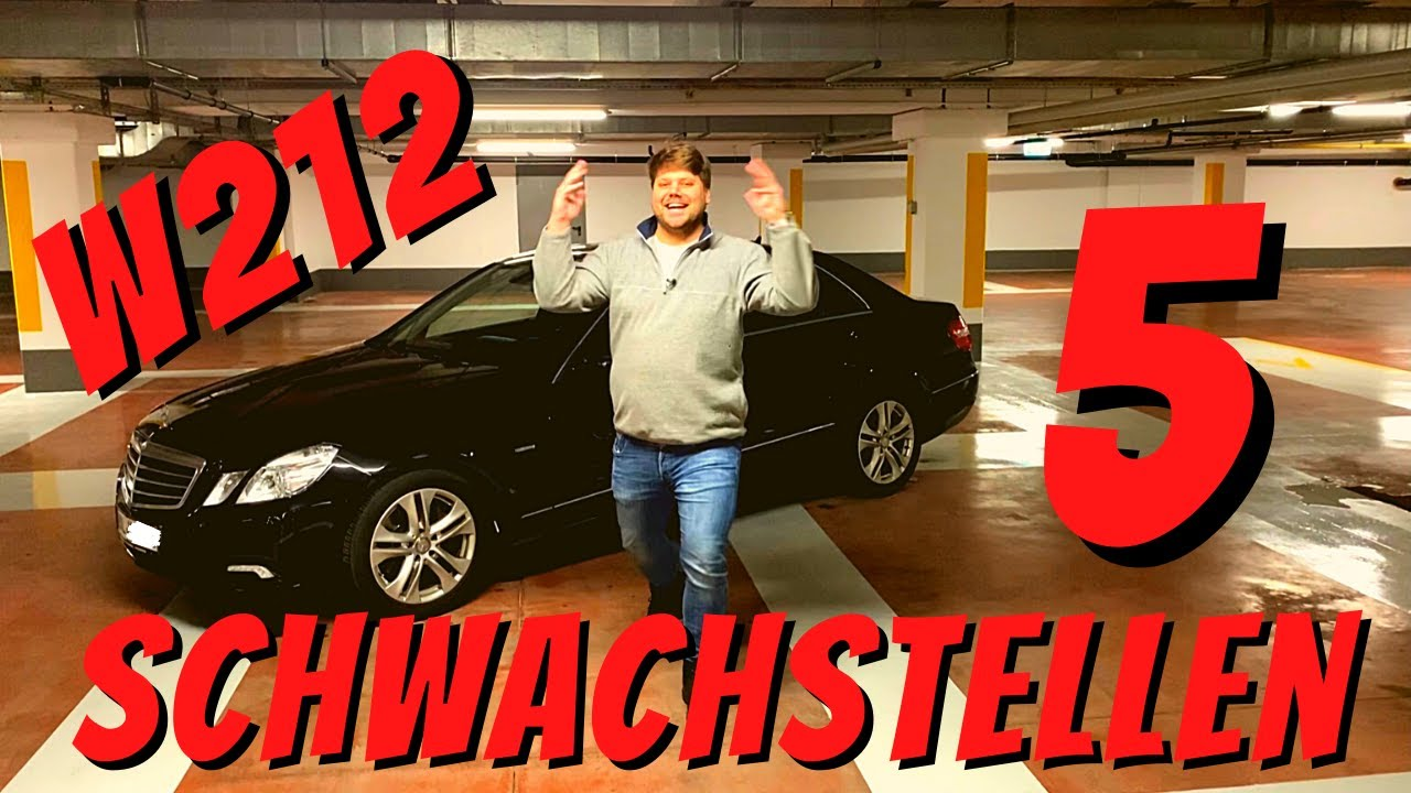 5 Schwachstellen am W212   Benzbaer