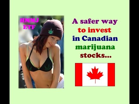 Canadian Marijuana Stocks: A safer way to invest in them. // 2017 Canada cannabis hemp weed pot
