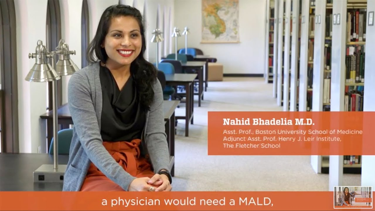 Why Fletcher: Nahid Bhadelia, Medical Director, Special Pathogens Unit,  Boston Medical Center