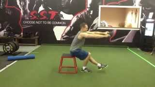 Single Leg Squat From Bench
