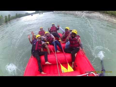 River rafting in Beas river