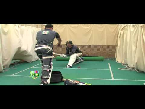 Lehmann batting session