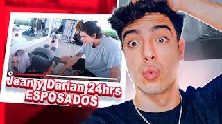 REACCIONANDO al 24 horas ESPOSADOS de JEAN y DARIAN//NAIM DARRECHI