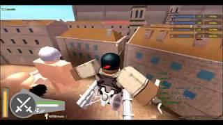 ATTACK ON TITAN IN ROBLOX ?!?!?!?!? | Attack On Titan: Downfall [PUBLIC TEST BUILD]