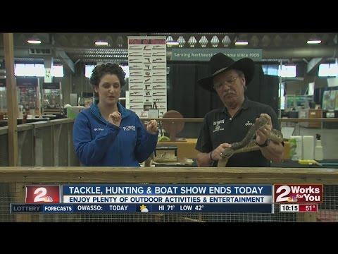 Rattlesnake Rangler At Mid-South Tackle Hunting And Boat Show In Tulsa