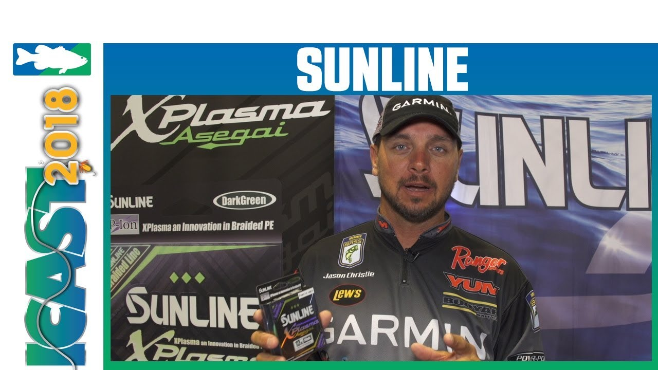 Sunline XPlasma Asegai Braid with Jason Christie | iCast 2018