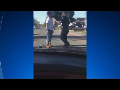 Jaywalker, witnesses speak out on violent arrest