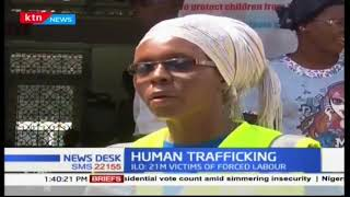 Cases of human trafficking are alarming in the country