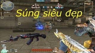 [ Bình Luận CF ] AK-47 Knife-Born Beast Noble Gold - Tiền Zombie v4