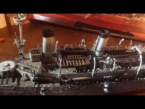 Building USS Olympia final part