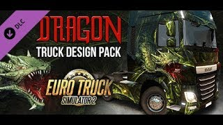 ???? ETS 2 W dalekiej podróży z IVONA !! #NAŻYWO #giveaway PAINT Dragon - Na żywo