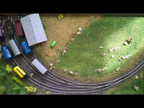 Layout Project: Inglenook Puzzle Part 1 - DC H0 Scale