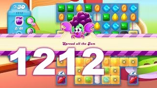 Candy Crush Soda Saga Level 1212 (No boosters)