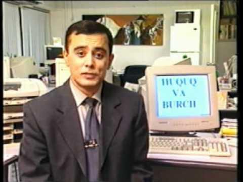 Huquq va burch: Ayollar va bolalar turmasi. Davlat tili. Yoshlar TV -- 2001