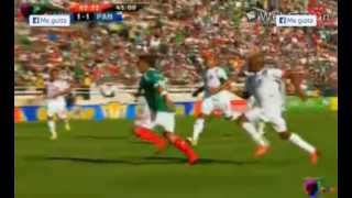 MEXICO PANAMA 1-2 GOAL MARCO FABIAN DIFFERENT TAKE