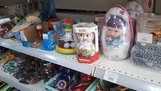 Продуктовый магазин/купила игрушки/продолжение моих похождений
