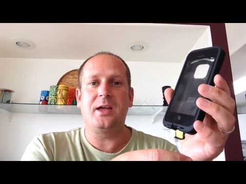 Lifeproof Case for iPhone Bad Review. iPhone 5 Water proof case people can't hear you talk